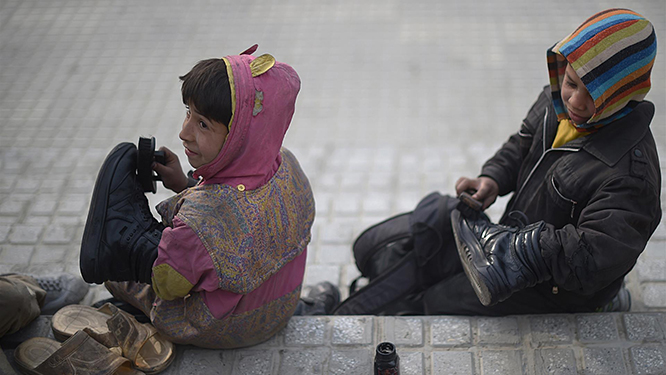 In Sardegna un bambino su cinque è povero