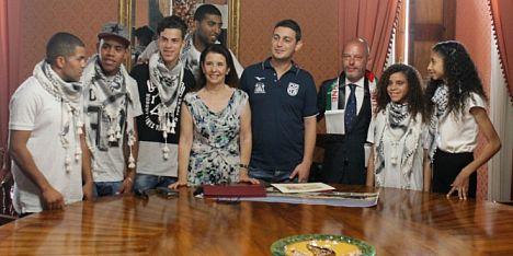 Lo sport, un ponte tra Sassari e la Palestina