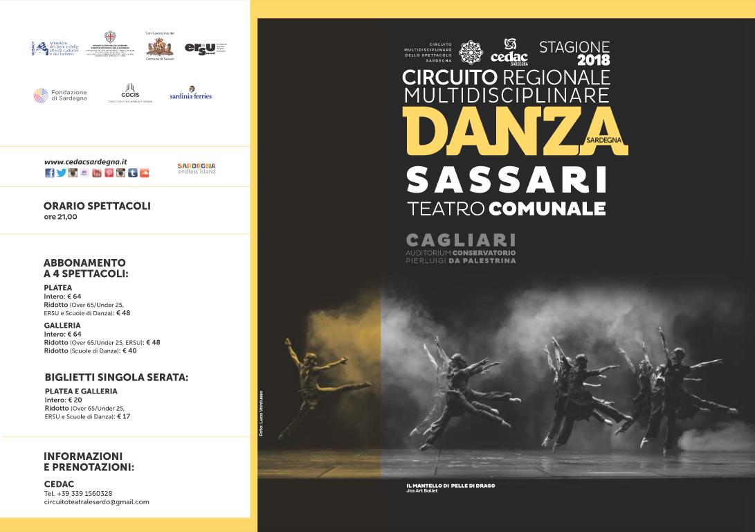 Cedac, stagione di danza 2018